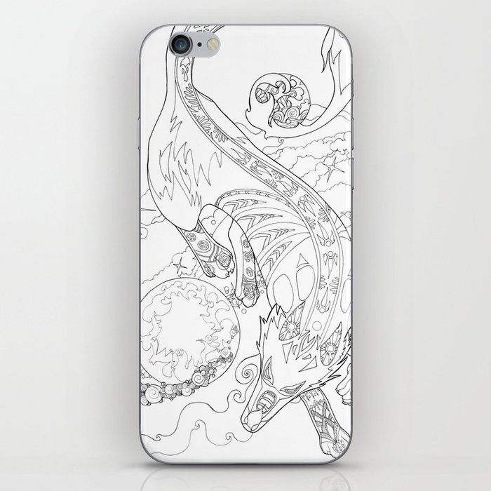Gern Finds A World iPhone Skin