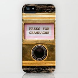 Champers iPhone Case