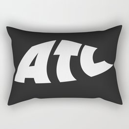 ATL Warped Logo Rectangular Pillow