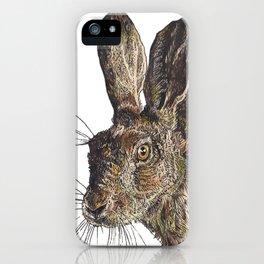 Hare II iPhone Case