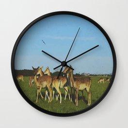 Oh Deer (Artistic/Alternative) Wall Clock