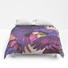 A Murder of Ravens Comforters