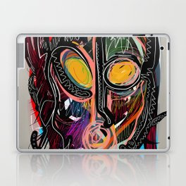 Heart is Art inspired by the music of Thomas Dolby Laptop & iPad Skin