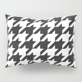 Houndstooth (Black and White) Pillow Sham