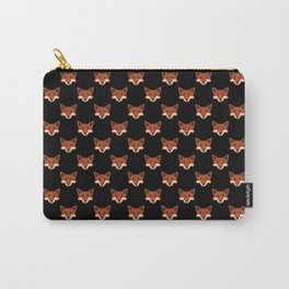 fox face icons Carry-All Pouch