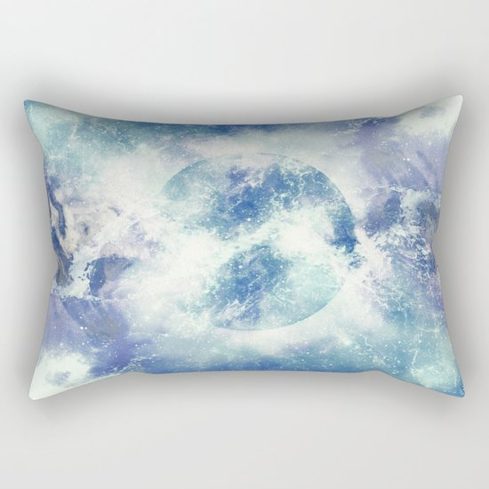 Universe Atoms Stories Rectangular Pillow