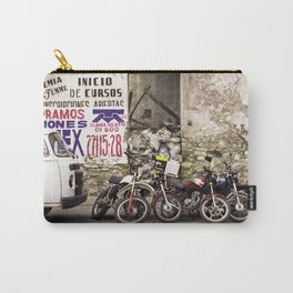 Motorcycles and Beauty Puebla Mexico Carry-All Pouch