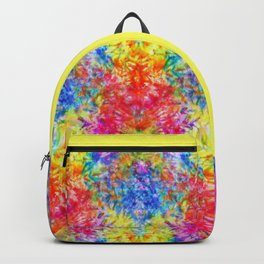Rainbow Sunshine Tie Dye Backpack