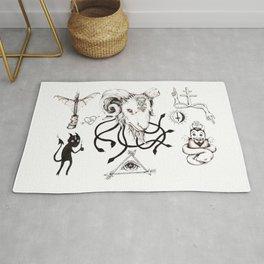 Lucifer Flash Sheet Rug