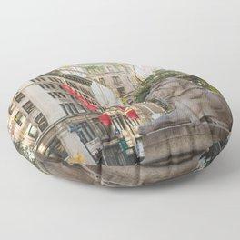 New York Public Library Floor Pillow
