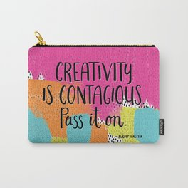 Creativity is Contagious Carry-All Pouch