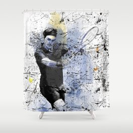 Game, Set, Match Shower Curtain