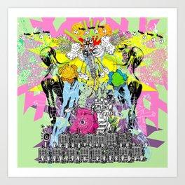 Jx3 Gallery - Promo 2016 Art Print