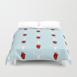 Hannibal Stag & Hearts Duvet Cover