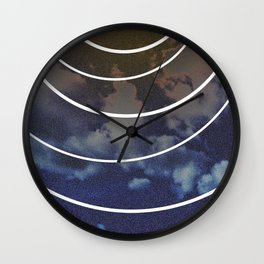 Moon Phases Wall Clock