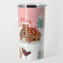 Gingerbread Village Travel Mug