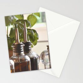 Olive and basilicum Stationery Cards