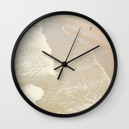 Aerial Hermosa Beach Wall Clock