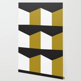 Blocked Olive Wallpaper
