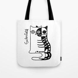 Schrodingers Cat – Quantum paradox Tote Bag