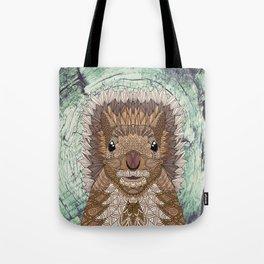 Ornate Squirrel Tote Bag