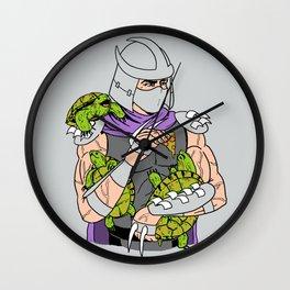 Ninja Pets Wall Clock
