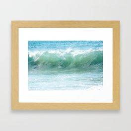 Surf Laguna Framed Art Print