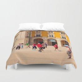 Lisbon Place architecture Duvet Cover