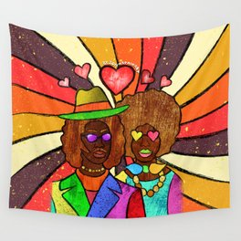 70's Love Wall Tapestry