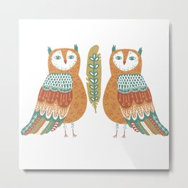 Owl be there for you Metal Print