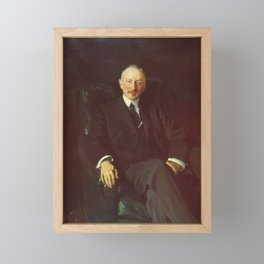 Joaquin Sorolla y Bastida - Portrait of Jacques Seligmann Framed Mini Art Print