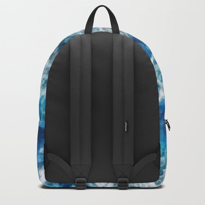 Sea foam waves Backpack