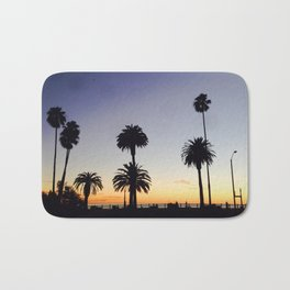 Palm Trees at Sunset Bath Mat