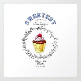 Maffin - Sweetest Art Print