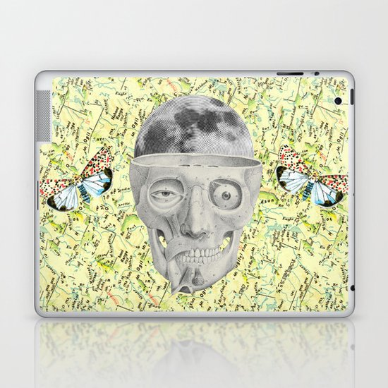 poor skeleton steps out Laptop & iPad Skin