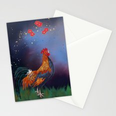 Year of the Rooster (part 1) Stationery Cards