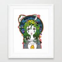 miyazaki Framed Art Prints featuring Miyazaki Love by  Dream Illusions