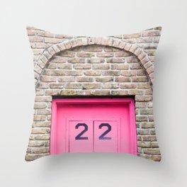 Door Number 22 Throw Pillow