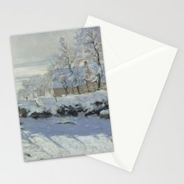 The Magpie - Claude Monet Stationery Cards