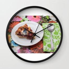 jam tart Wall Clock