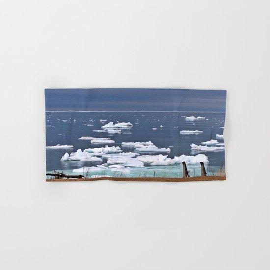 Icebergs on a Calm Sea Hand & Bath Towel