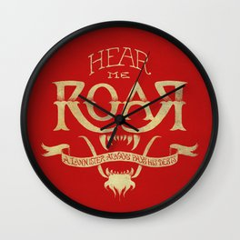 Game of Type Wall Clock