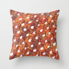 Celestial Phantoms Throw Pillow