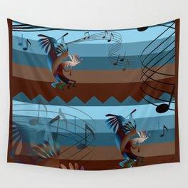 Southwest Kokopelli Music Wall Tapestry
