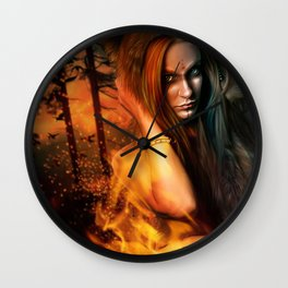 Wrath of the Wilderness Wall Clock