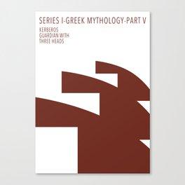 Kerberos, Guardian with three heads Canvas Print