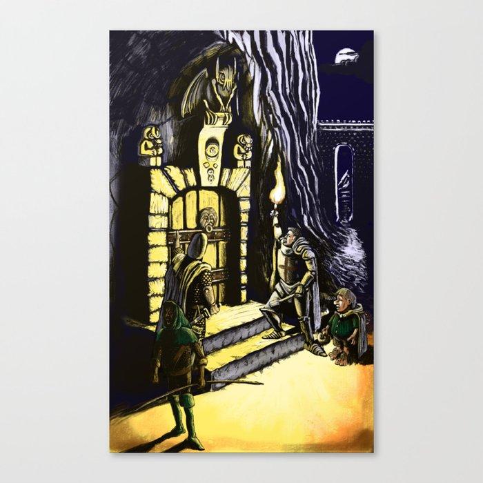 Door to Adventure Canvas Print