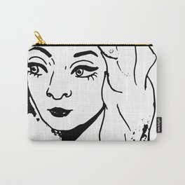 Eye Liner Girl - Tori Carry-All Pouch