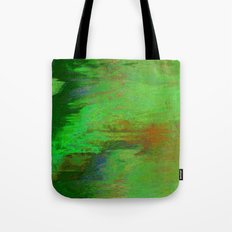 07-030-14 (City Reflection Glitch) Tote Bag