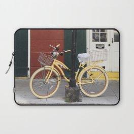 New Orleans Bicycle - Orleans Street Laptop Sleeve